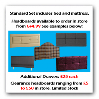 Prices for headboards
